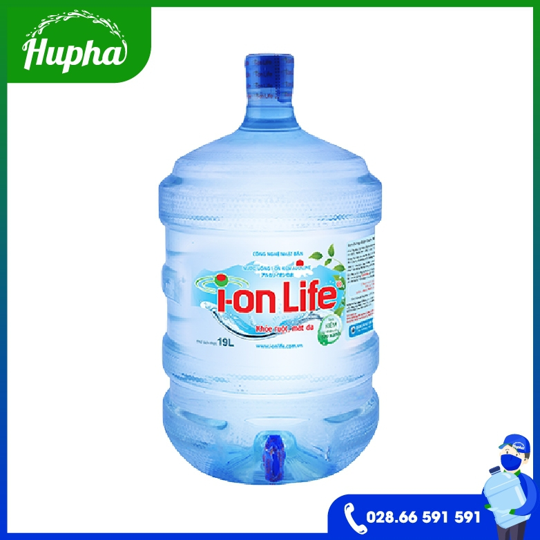 Nước Uống Ion Life 19L