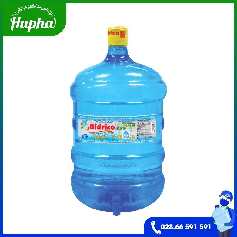 Nước Uống Bidrico Vòi 19L